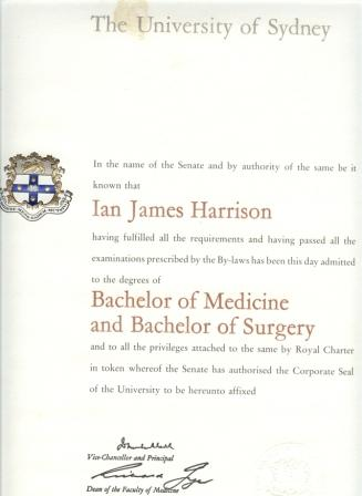 Dr Ian Harrison